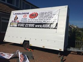 Advertising Trailer for sale