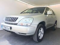 2001   Lexus RX300 3.0 SE   Auto   Petrol   2 Former Keepers   6 Months MOT   HPI Clear
