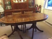 Dining table and 4 chairs superb condition bargain must be seen
