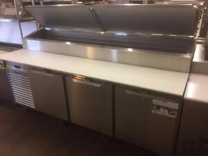 **THE LAST PIZZA PREP TABLE YOU'LL EVER OWN - TRAULSEN REFRIGERATION BY HOBART**