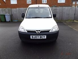 2007 Vauxhall Combo with MOT until March 2018