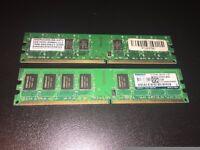 DDR2 800mhz 2x2GB Desktop RAM