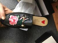 BRAND NEW: Gucci Princetown leather slipper size 5