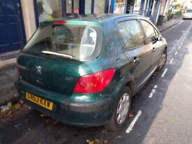 Peugeot 307 - 2003 - 1.4 - MOT has just run out - quick sale needed