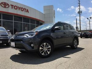 2016 Toyota RAV4 HYBRID XLE, MOONROOF, ALLOYS, BLUETOOTH