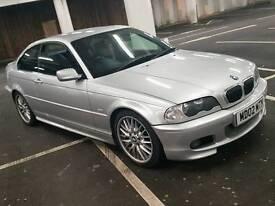 BMW E46 325CI M SPORT MANUAL 190BHP
