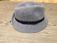Stylish ladies grey hat- brand new