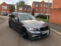 2009 BMW 3 SERIES 335D TOURING M SPORT AUTO ESTATE GREY PAN ROOF LEATHERS MUST SEE BARGAIN