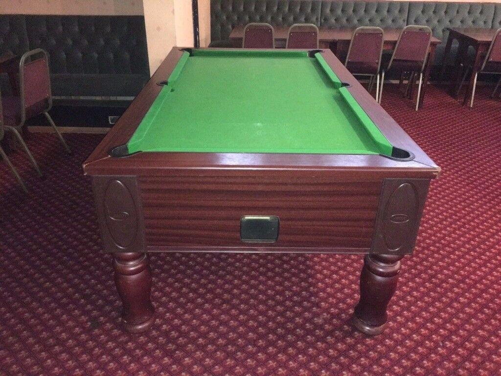 Pub Pool Table - 7ft x 4ft Slate Bed