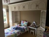 Schreiber fitted wardrobe and dresser/drawers