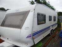 HOBBY CARAVAN FIXED BED 2008