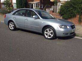 Hyundai Sonata CDX, Automatic, 2.4 BiFuel, Silver, MOT, Low mileage:46K,Free London Congestion Zone.