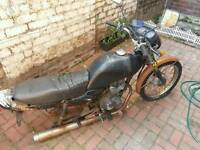 Honda cg (spares or one hell of a repair)