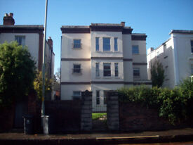 Spacious and stylish 2 double bedroom flat in Kingsholm with garage and garden. Well maintained.