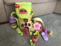 Happyland fairy bluebell boot house