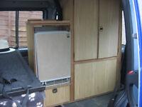 campervan fridge and unit