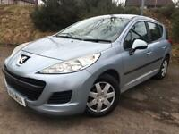 2011 Peugeot 207s sw 1.6 diesel years mot £20 a year tax