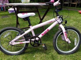 Girls bike 18inch wheels