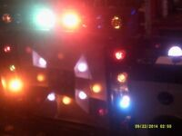 full disco lights and cd deck