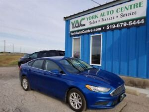 2017 Ford Fusion SE Ecoboost; MyFord Touch/BackUp Cam, Heated Se