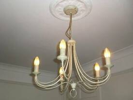 Chandelier / Light fitting - 5 bulb