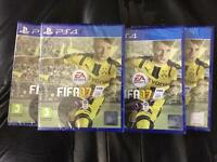 BRAND NEW SEALED FIFA 17 PS4 PLAYSTATION 4