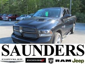 2014 Ram 1500 Sport Quad Heated Seats/Low KM's