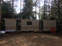 Two bedroom static Caravan 10ftx30 ft