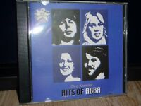 KARAOKE CDG DISC-HITS OF ABBA