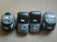 'Lonsdale' Boxing gloves & pads