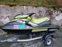 Seadoo RXP 4-TEC Supercharged 215 jet ski needs timing done nearly complete