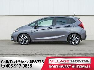 2015 Honda Fit EX-L Navi | Local Vehicle | B/U Cam | Leather |