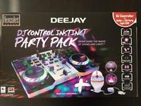 Hercules DJ Control Instinct Console with extra LED party light