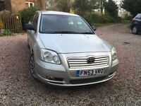 Toyota Avensis MOT just expired reasonable condition
