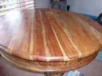 real wood grain elephant wood circular 80cm diameter