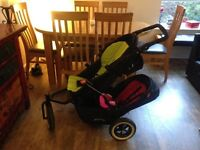 Phil and Teds Dot Double buggy plus extras
