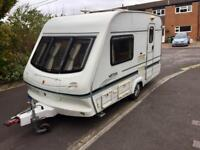 Elddis Wiston 2 berth 2001 Motor mover Excellent condition 16' feet overall length