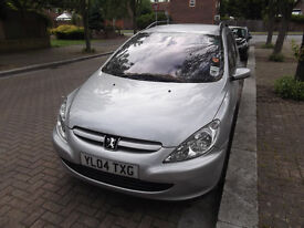 07510120534 Peugeot 307 2004 auto automatic petrol estate roof rack year MOT and Tax