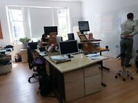 Desk space in Putney - parking space and meeting room too!