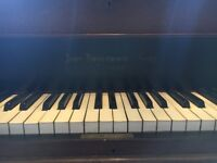 Baby Grand Piano needs new home, in need of restoration.
