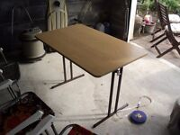 like new caravan table fold away use in caravan or for the awning