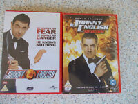 Johnny English 1 and 2 DVD's