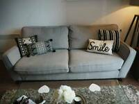 Atos Harveys Grey 3 seater sofa - great condition - bought for £400