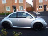 03 reg volkswagen beetle 1.6 sr facelift alloys cd player full service history 9 months mot and tax