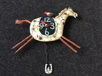 Child's pendulum wall clock