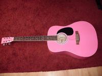 Acoustic Guitar full size excellent condition Rikter.