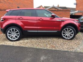 Range Rover Evoque 2014 Immaculate ConditionRange Rover Warranty to November 2018