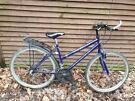 Apollo 3600 ladies bike, 26 in wheels,  15 gears, 17 in frame, ladies bike, all gears and brakes