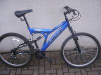 Mens Banzai KMF Track Mountain Bike