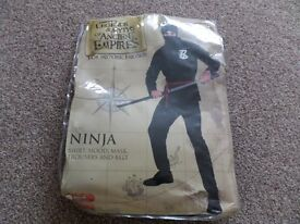 ***Fancy dress outfit*** NINJA outfit size L